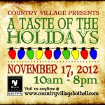 Taste of the Holidays at Country Village, Nov 17, 2012