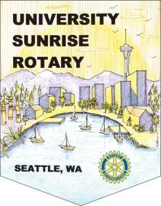 Uuniversity Sunrise Rotary Logo