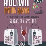 HOLIDAY TASTING BAZAAR Sun. Nov. 16th