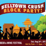 Belltown Crush Block Party Sat. Aug 26