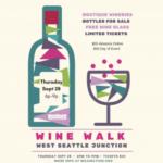 West Seattle Wine Walk Sept. 28