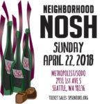 NEIGHBORHOOD NOSH Sun. April 22