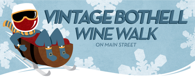 Downtown Bothell Holiday Wine Walk, Dec. 11, 2021