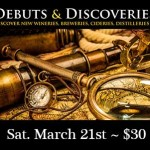 Debuts & Discoveries ~ Sat. March 21st