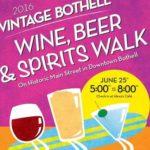 Vintage Bothell Wine, Beer & Spirits Walk