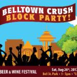 Belltown Crush Block Party Sat. Aug 26