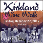 Kirkland Zombie Wine Walk Fri. Oct 27