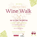 West Seattle Wine Walk – May 18