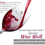 Mill Creek Spring Wine Walk May 12