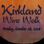 "KIRKLAND ""ZOMBIE"" WINE WALK Oct. 26"