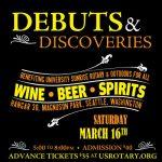 Debuts & Discoveries Sat. Mar. 16