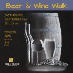 Mill Creek Fall Beer & Wine Walk Sept 21