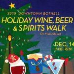 Bothell Holiday Wine, Beer, & Spirits Walk Dec. 14