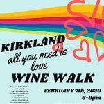 "KIRKLAND ""All You Need Is Love"" WINE WALK"
