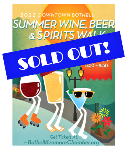 Bothell Summer Wine, Beer, & Spirits Walk July 24 (SOLD OUT)